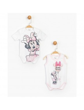 Lisanslı Minnie Mouse 2'li Body 15477