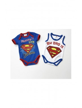 Lisanslı Superman 2'li Body SM15553