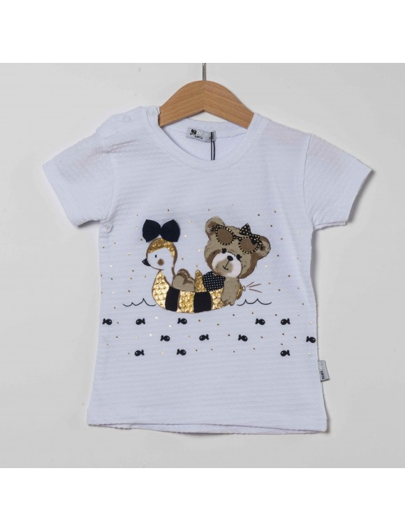 Kız Bebek T-Shirt LR19