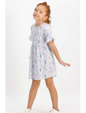 Mermaid Karmelanj Kız Çocuk Homewear Elbise RP1746-C