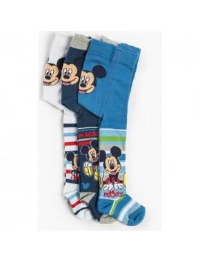 Mickey Mouse Bebek 3'lü Külotlu Çorap 12469