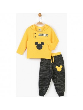 Mickey Mouse Disney Çocuk Kapüşonlu 2'li Takım 14715