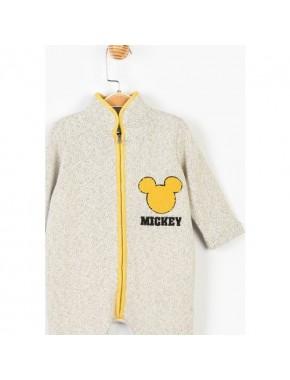 Mickey Mouse Disney İçi Şardonlu Fermuarlı Tulum 14708