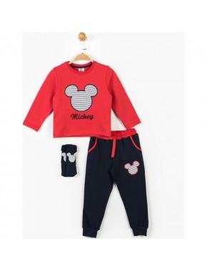 Mickey Mouse Disney Mickey Çocuk 3'lü Takım 14747