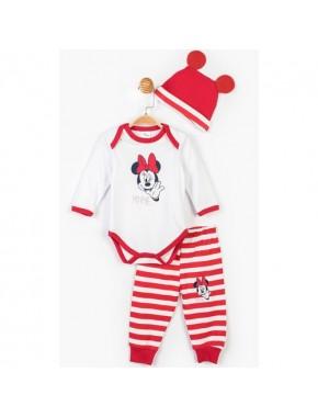 Minnie Mouse Disney Minnie Bebek 3'lü Takım 14641