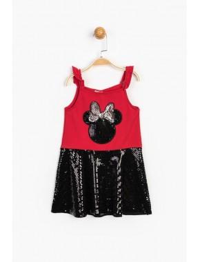 Minnie Pullu Elbise 15539 T20Y15539DSN01
