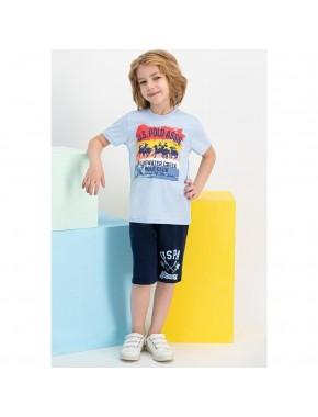 Mint Erkek Çocuk Bermuda Takım US623-C
