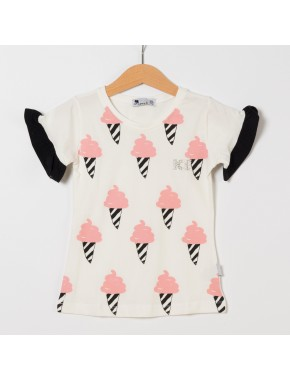 Kız Bebek T-Shirt MR19-202