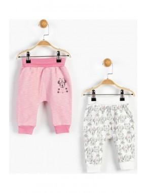 Pembe Kız Bebek Pantolon