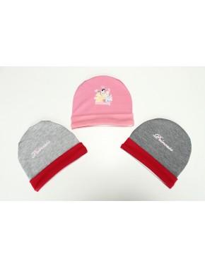 Prensesli Kız Bebek 3 lü Şapka DB050