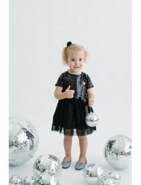 Pullu Çocuk Elbise 15687 22530