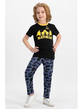 Rolypoly L1146-2 Batman Erkek Çocuk Pijama Takım