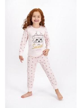 Rolypoly Pembemelanj Sweet Winter Kız Çocuk Pijama Takımı