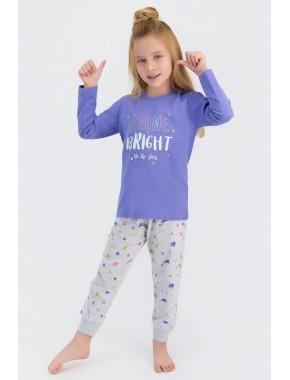 Rolypoly Shine Bright Like The Stars Indigo Kız Çocuk Pijama Takımı