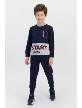Rolypoly Start Lacivert Erkek Çocuk Eşofman Takımı