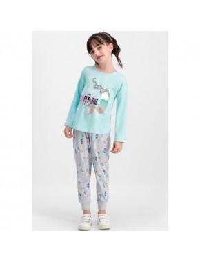 RolyPoly Swim Shine Nil Yeşil Kız Çocuk Pijama Takımı