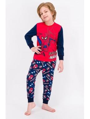 Spider Man Açık Kırmızı Lisanslı Erkek Çocuk Pijama Takımı