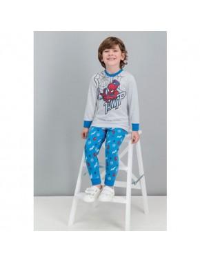Spiderman Lisanslı Karmelanj Erkek Çocuk Pijama Takımı