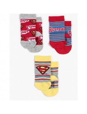 Superman Bebek 3'lü Çorap