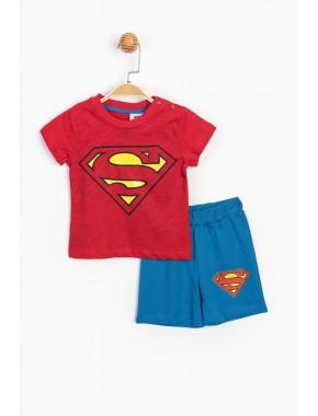 Superman Lisanslı Şortlu Takım 15552 BSM15552-20Y1