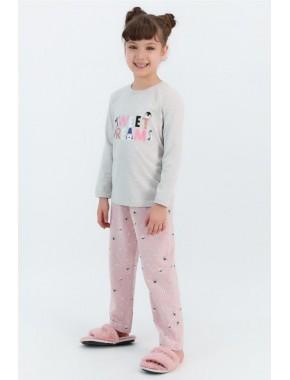 Sweat Dreams Bejmelanj Kız Çocuk Pijama Takımı