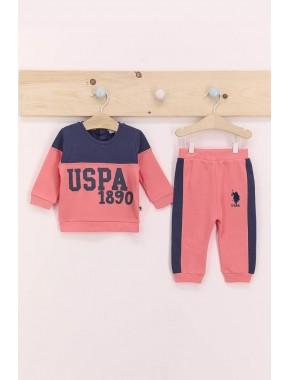 U.s. Polo Assn Indgio Kız Bebek Eşofman Takımı