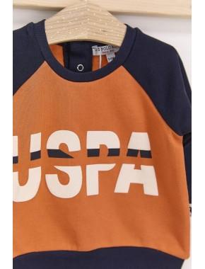 U.s. Polo Assn Lacivert Erkek Bebek Eşofman Takımı