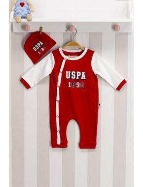 U.s. Polo Assn Lisanslı Bebek Tulum