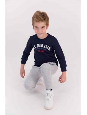 U.s. Polo Assn Lisanslı Classic Lacivert Erkek Çocuk Eşofman Takımı