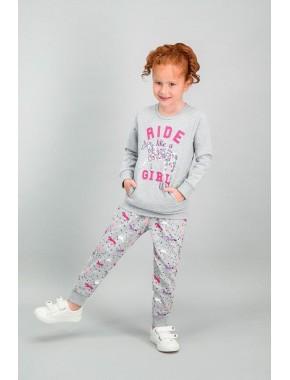 U.S. Polo Assn Lisanslı Grimelanj Kız Çocuk Eşofman Takımı