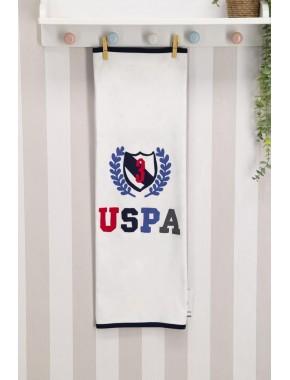 U.s. Polo Assn Lisanslı Krem Bebek Battaniye