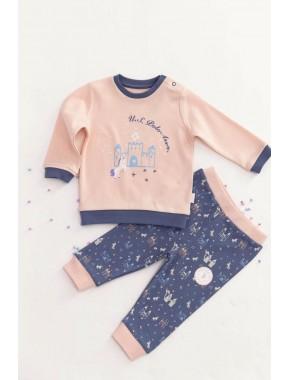 U.s. Polo Assn Lisanslı Somon Bebek Takım