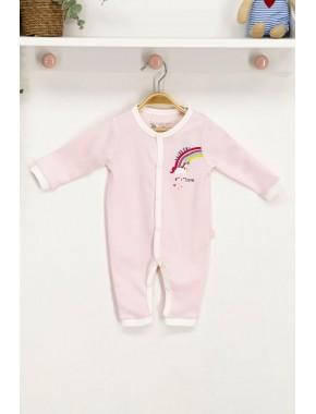 U.s. Polo Assn Somon Lisanslı Bebek Tulum